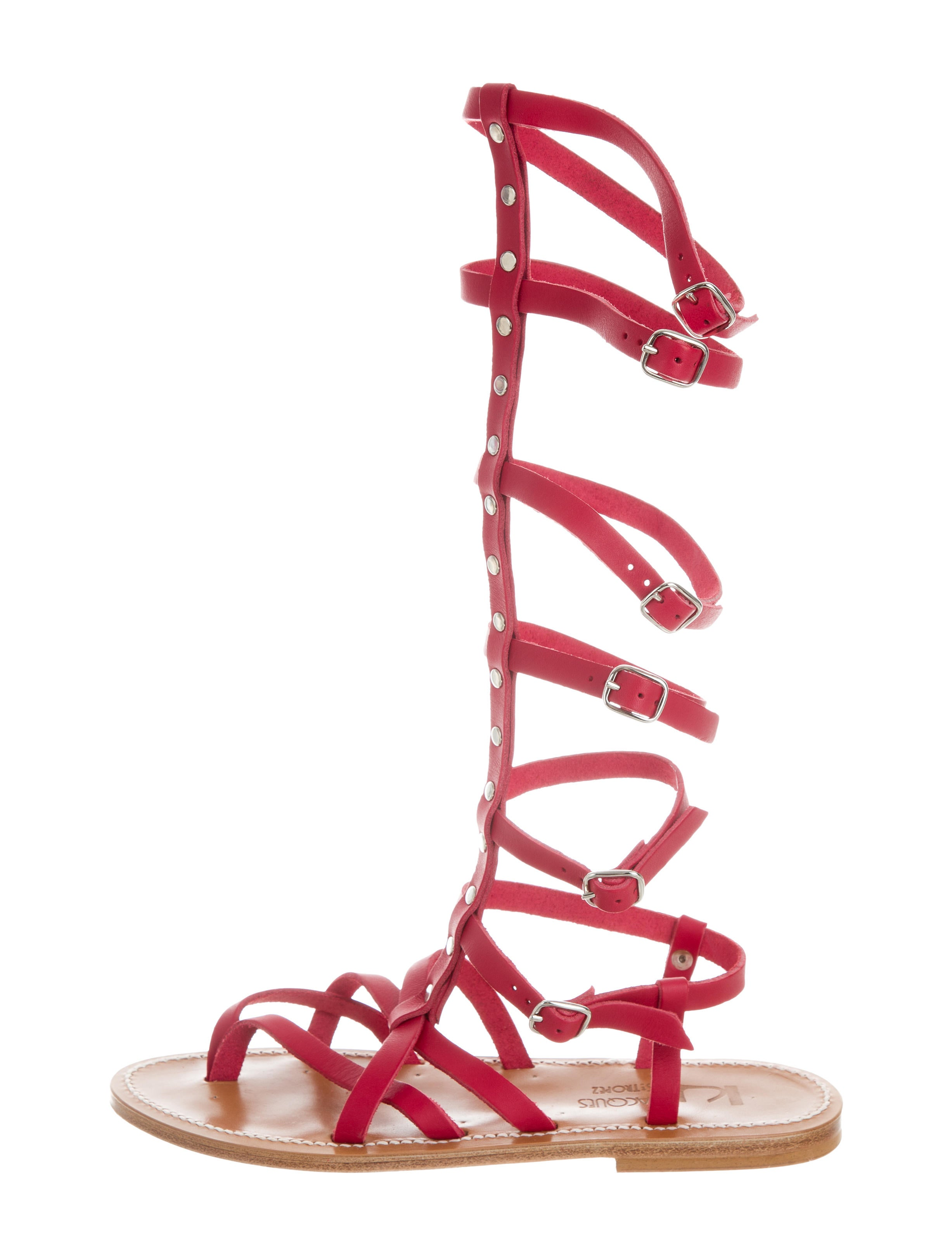 K Jacques St. Tropez Leather Gladiator Sandals w/ Tags cheap sale affordable clearance fast delivery footlocker pictures online sneakernews cheap online brand new unisex for sale ZxxGDMBX