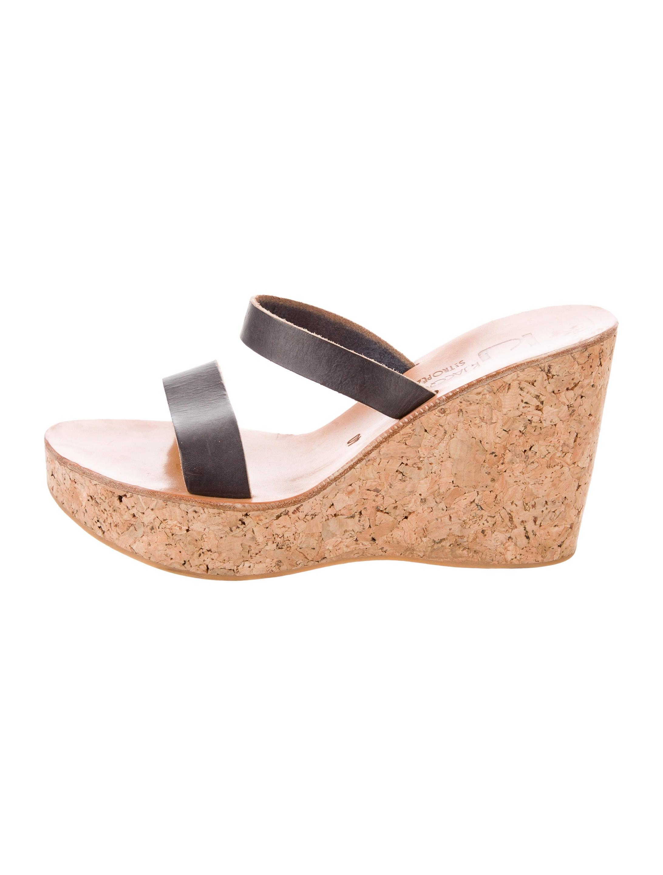 cheap excellent K Jacques St. Tropez Platform Wedge Sandals manchester great sale online 100% authentic cheap price with mastercard online PrdeoG19SS
