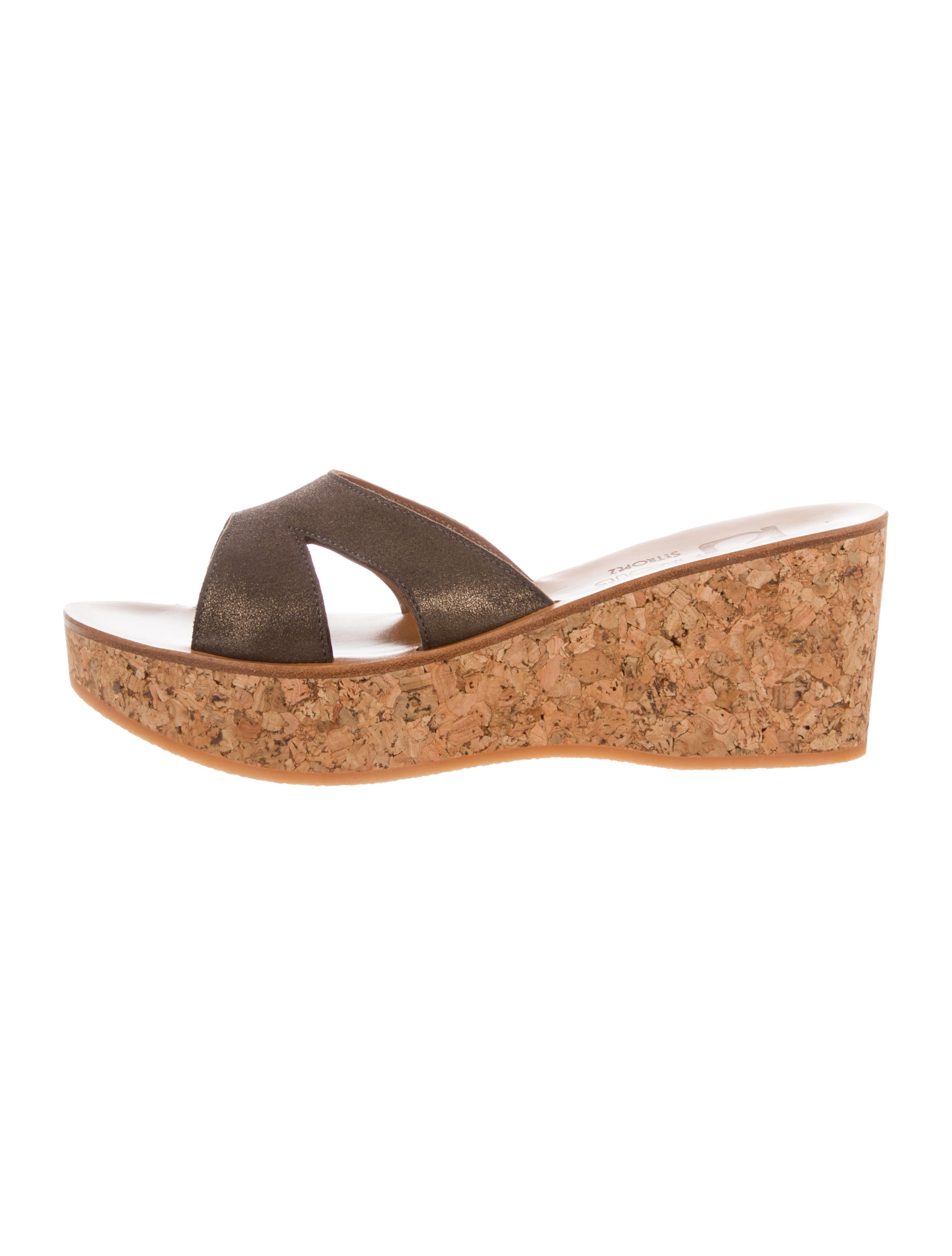 8aadf5d56736 K Jacques St. Tropez Kobe Wedge Sandals w  Tags - Shoes - WK021747 ...