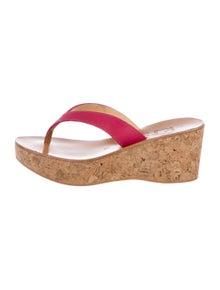 ac6639ac6013 K Jacques St. Tropez. Leather Platform Sandals