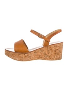 cbf2fd3c1a8 K Jacques St. Tropez. Platform Wedge Sandals