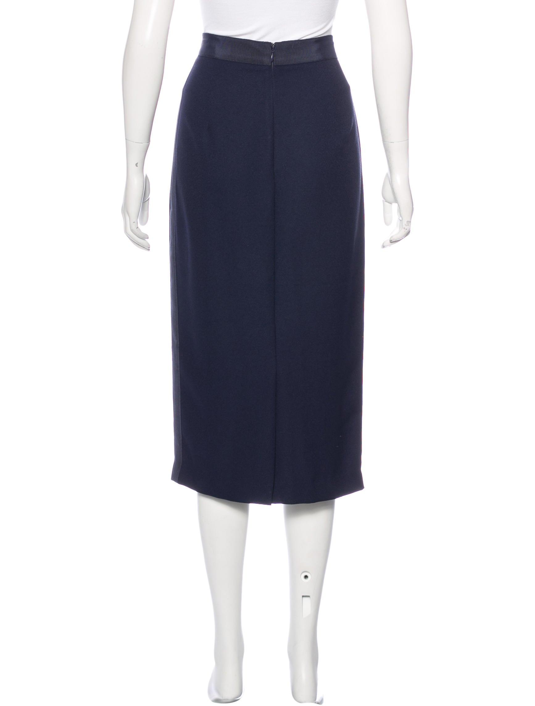 kaelen midi pencil skirt skirts wk520867 the realreal