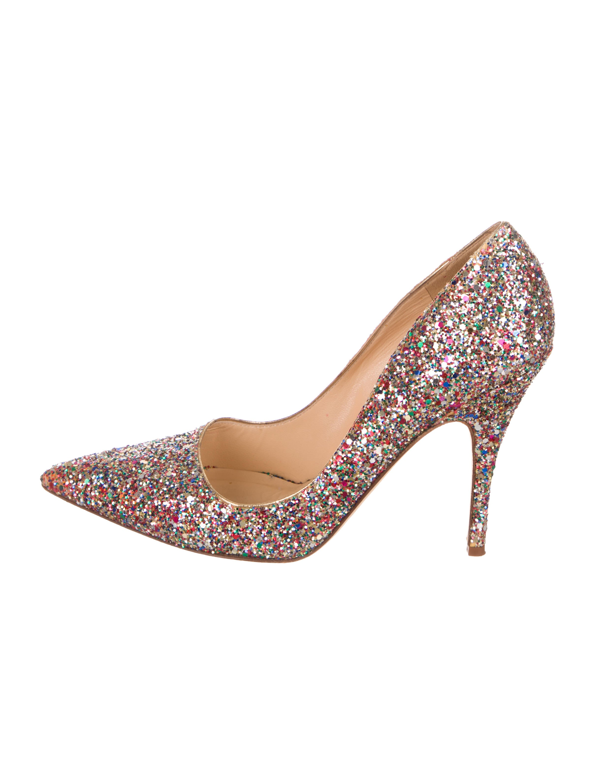 Glitter Pointed Toe Pumps by Kate Spade New York