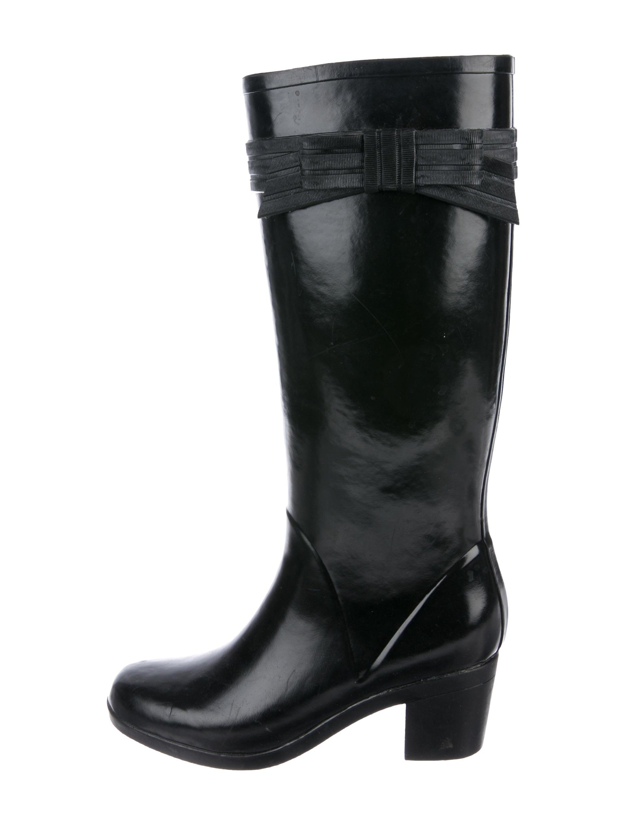 b2dcaeb4798d Kate Spade New York Rubber Rain Boots - Shoes - WKA105501