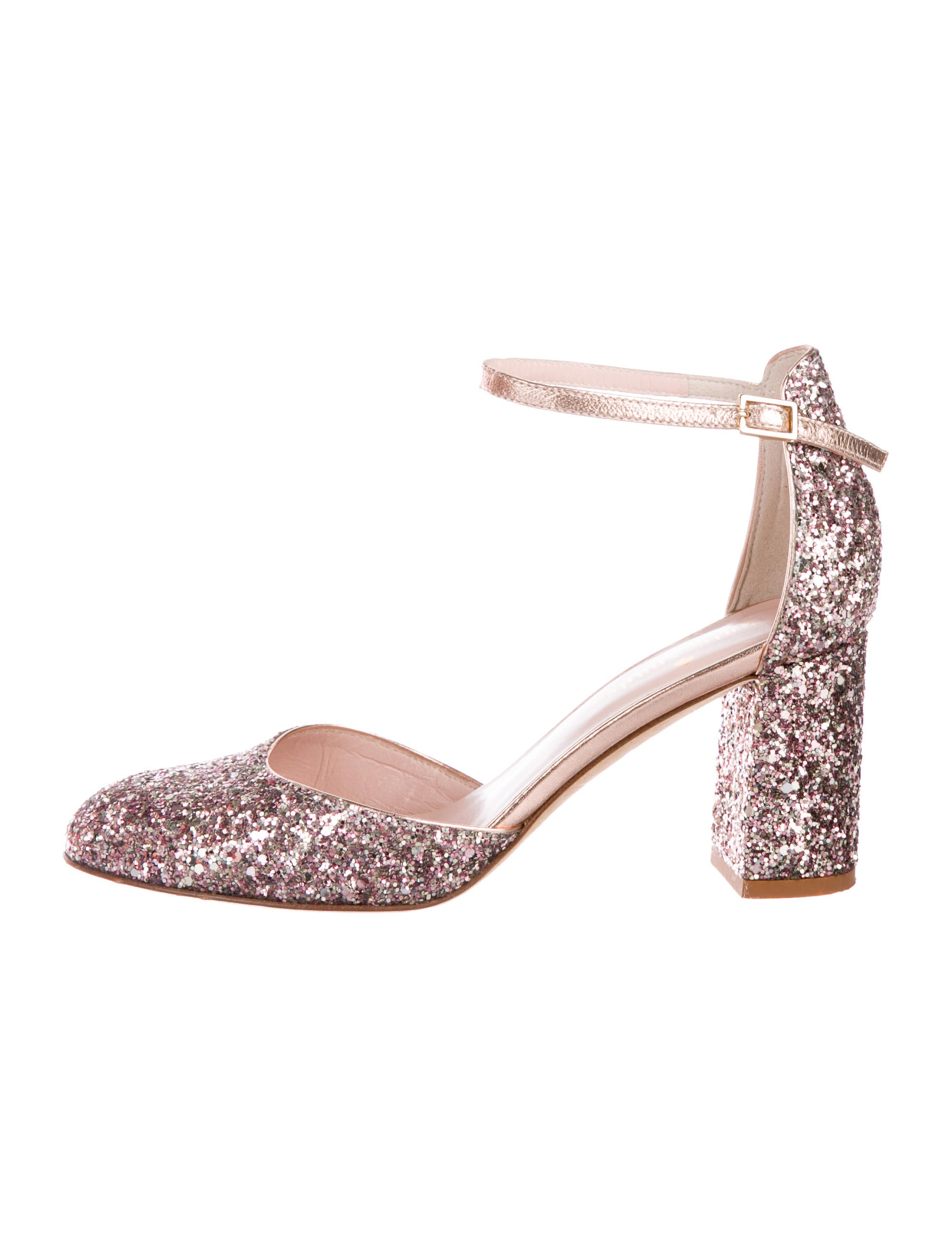 cbbd5d08330 Kate Spade New York Abigail d Orsay Glitter Pumps - Shoes ...
