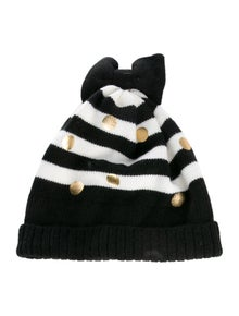 4033dbc9849b Kate Spade New York. Stripped Bow Beanie