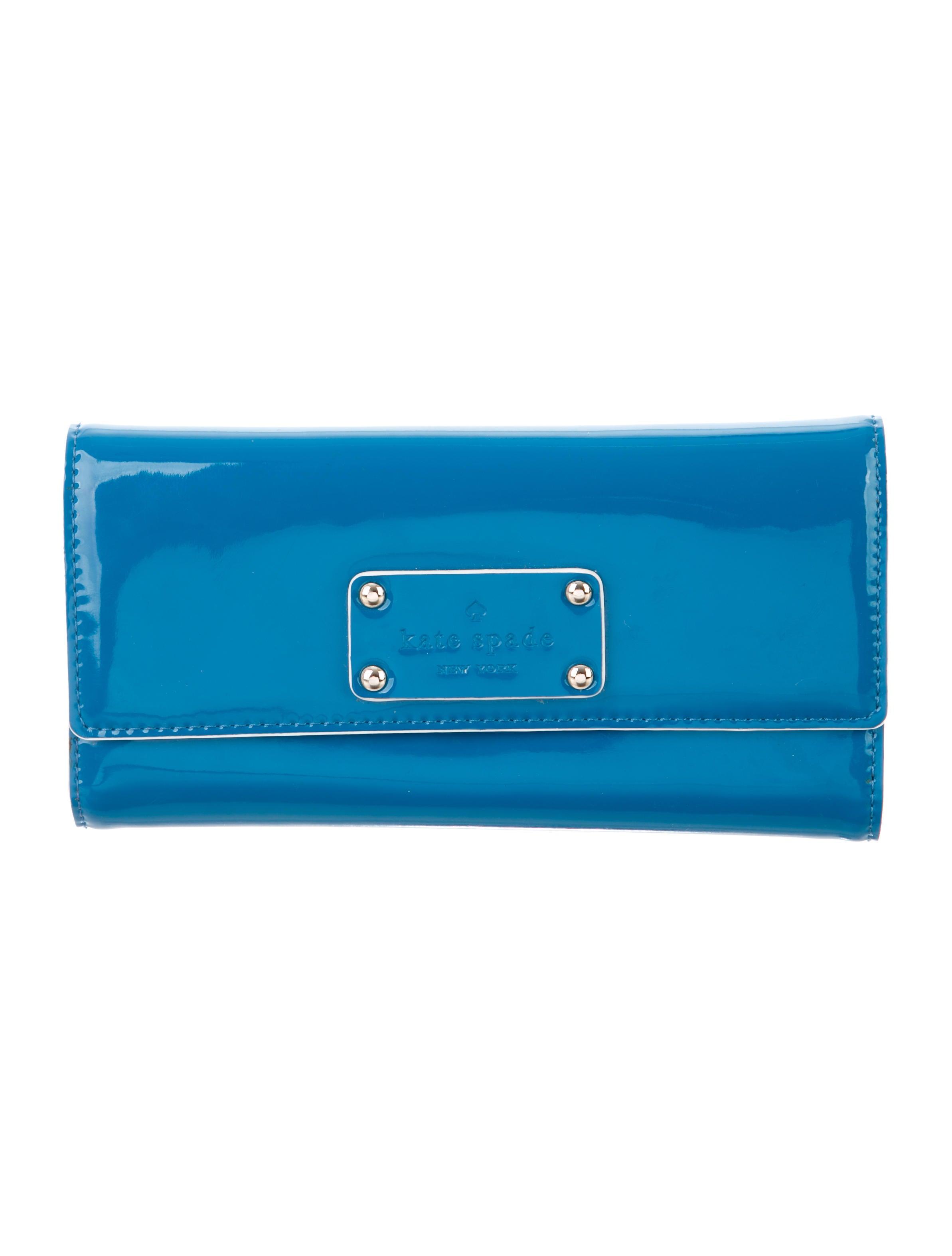 Aqua Kate Spade Pasadena New Sander Wallet