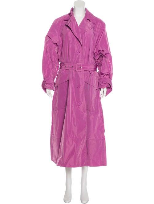 Kate Spade New York Trench Coat Purple