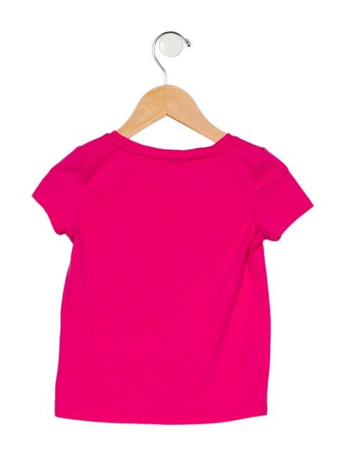 Kate Spade New York Girls' Printed Short Sleeve Top