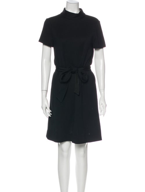 Kate Spade New York Turtleneck Mini Dress Black