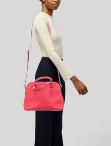 Kate Spade New York Textured Leather Satchel