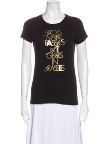 Kate Spade New York Graphic Print Crew Neck T-Shirt