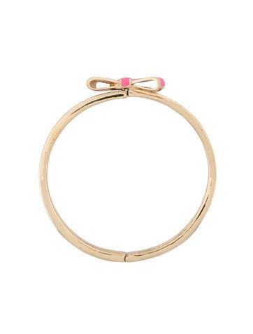 Enamel Bow Bracelet