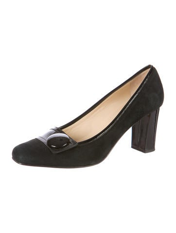 Square-Toe Pumps