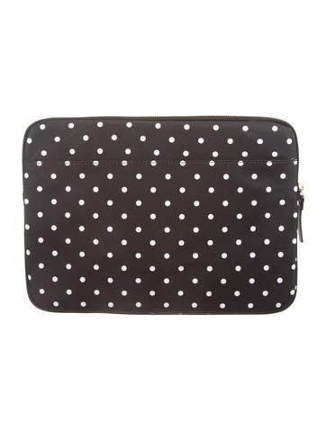 Printed Laptop Case w/ Tags
