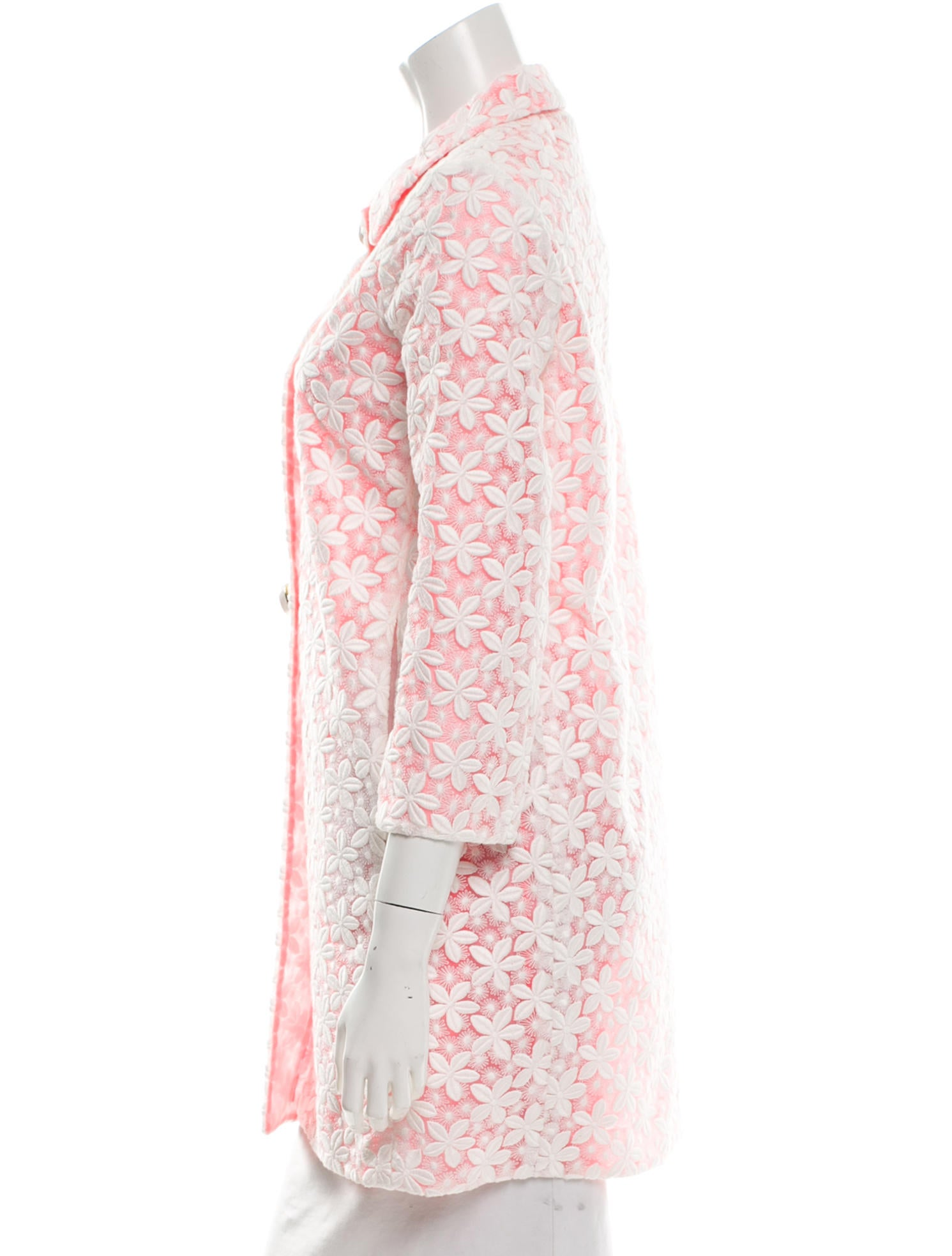 Kate spade new york long embroidered jacket w tags