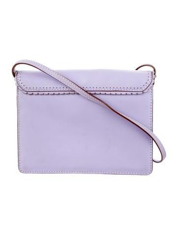 Scallop-Trimmed Shoulder Bag