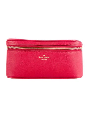 Saffiano Leather Cosmetic Case