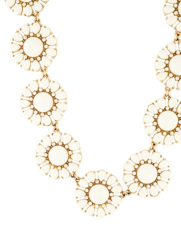 Flower Enamel Necklace