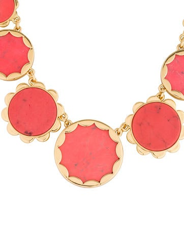 Marbled Collar Necklace