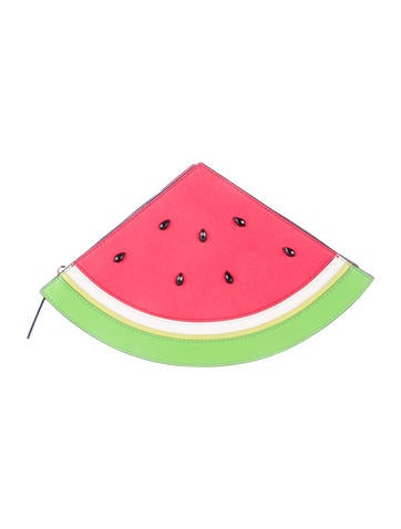 Splash Out Watermelon Clutch