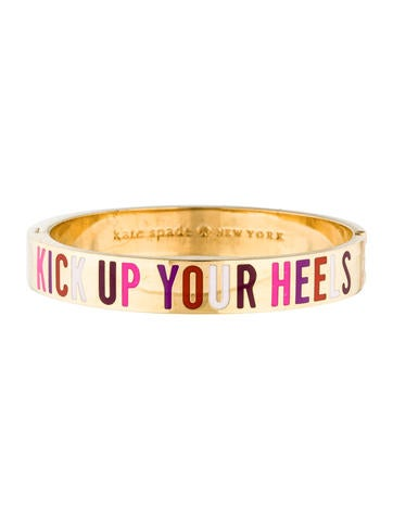 Kick Up Your Heels Enamel Bangle