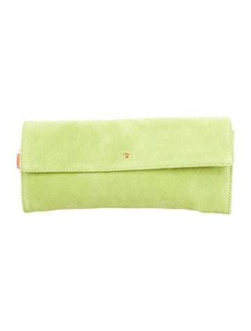 Suede Ring Clutch