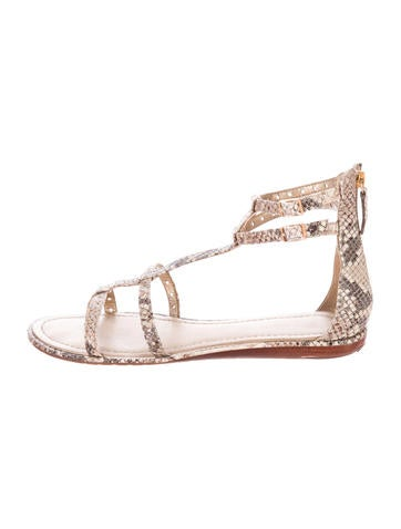 Kate spade new york adagio embossed leather sandals for Adagio new york