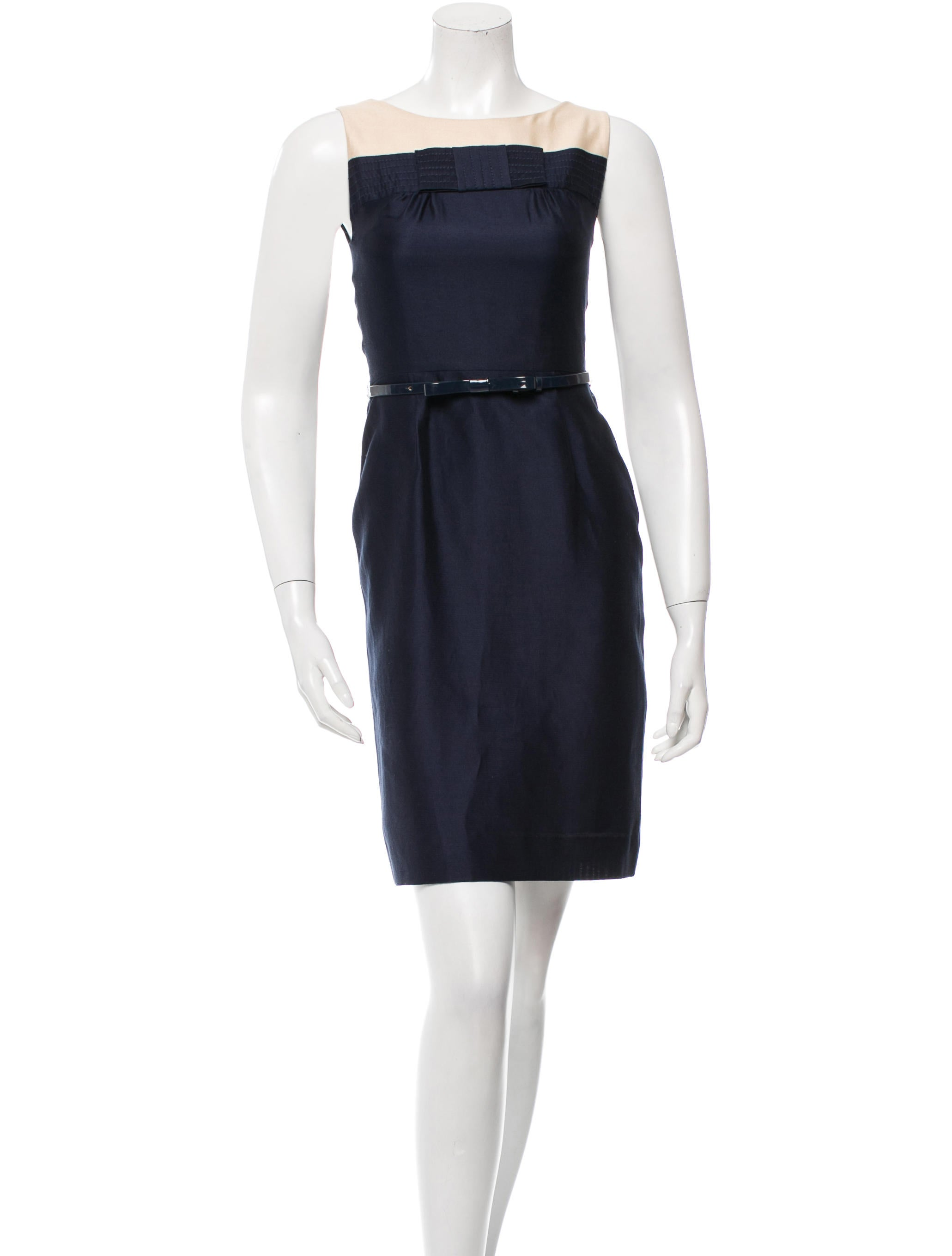 Kate Spade New York Belted Colorblock Dress Clothing