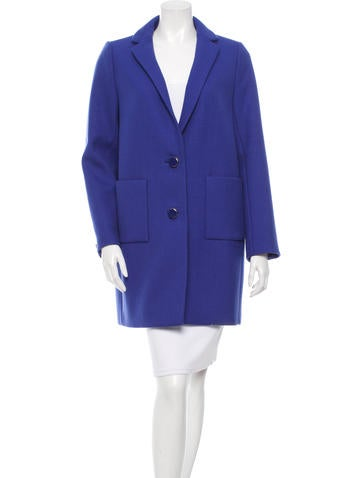 Kate Spade New York Wool Chesterfield Coat