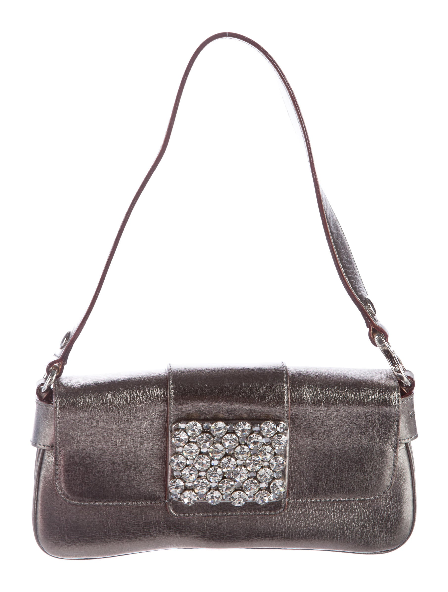 Kate Spade New York Embellished Metallic Evening Bag