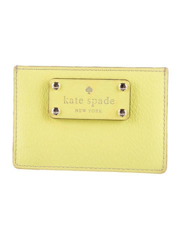 Kate Spade New York Colorblock Leather Card Holder None