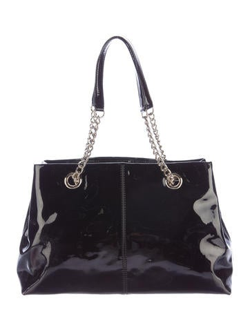 Kate Spade New York Patent Leather Tote Handbags