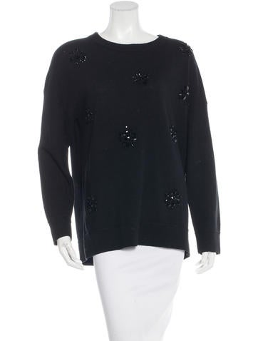 Kate Spade New York Embellished Rib Knit Sweater w/ Tags None