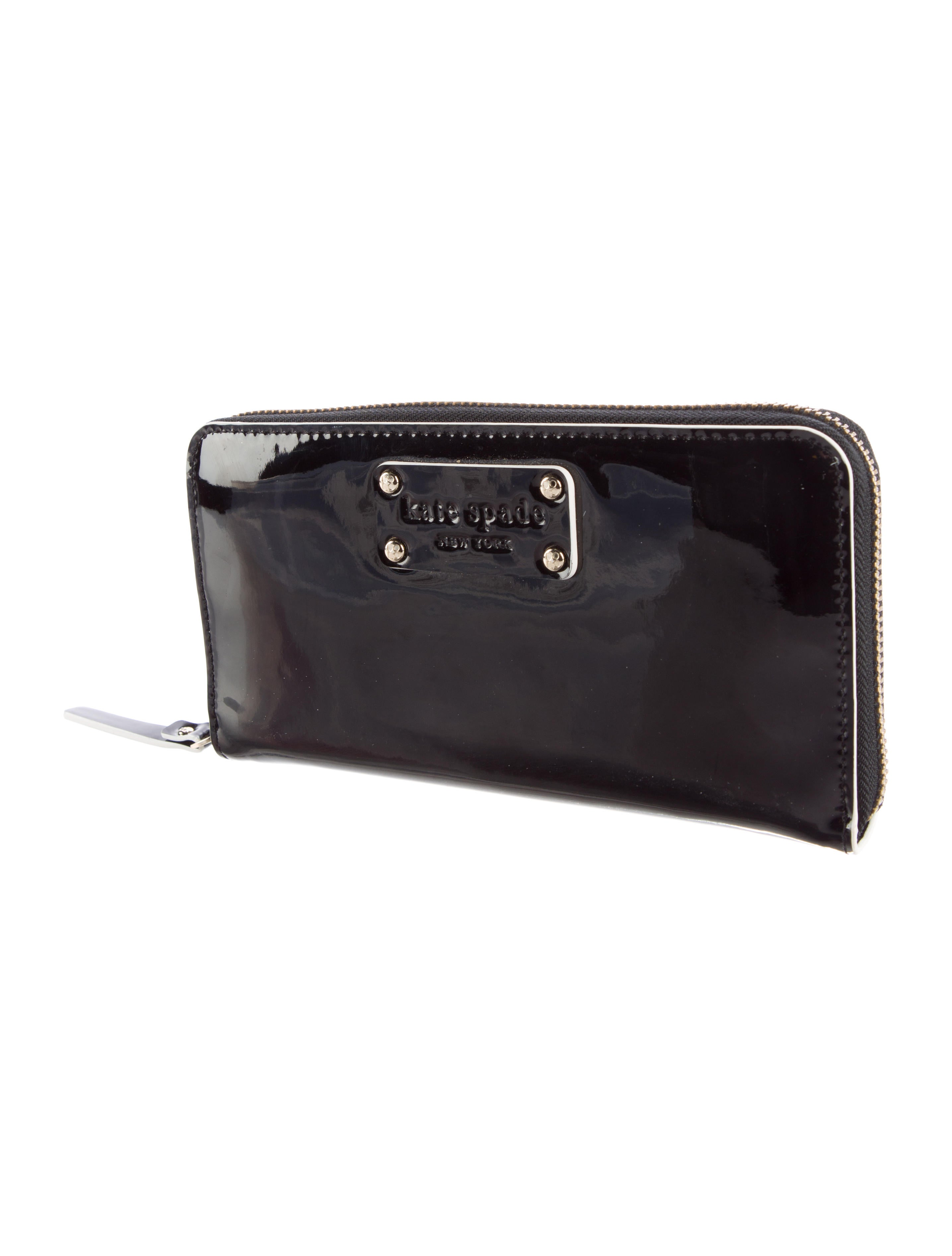 Kate Spade New York Patent Leather Wallet Accessories