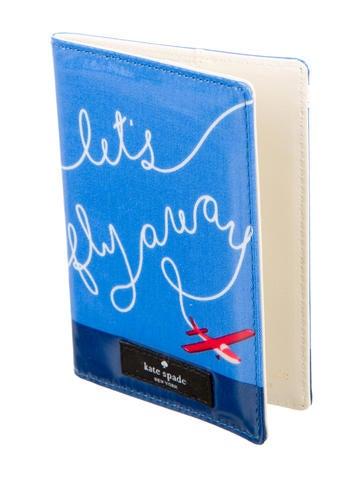 Let's Fly Away Passport Holder