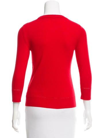 Wool Intarsia Sweater