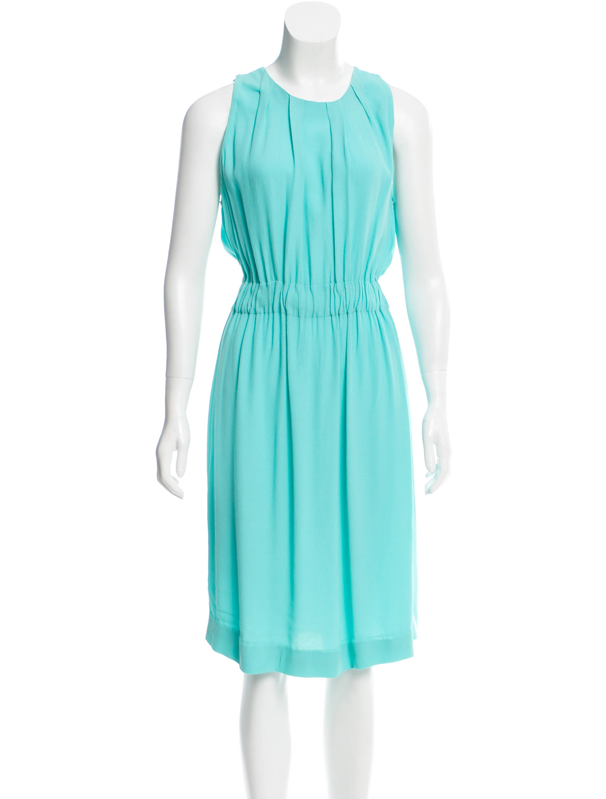 Kate spade new york pleated midi dress clothing for New york and company dress shirts
