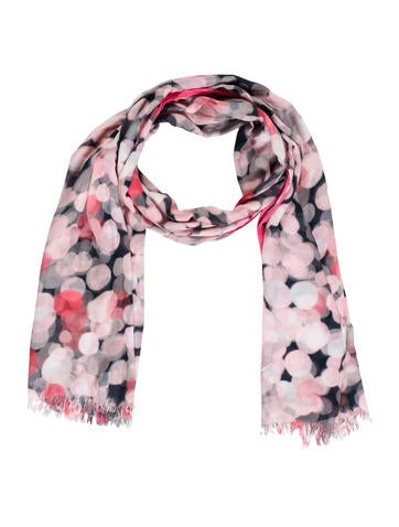 Kate Spade New York Bubble Print Scarf