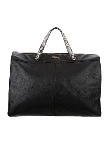 Kate Spade New York Leather Weekender None
