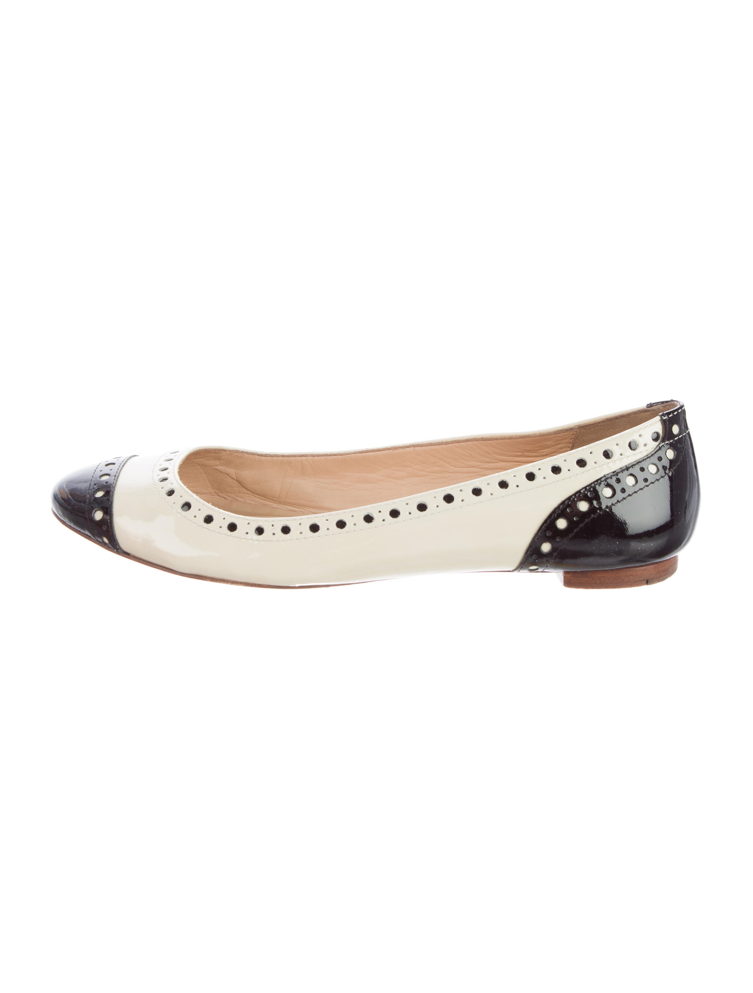 8b2d62c7639c Kate Spade New York Tuttie Patent Leather Round-Toe Flats - Shoes ...