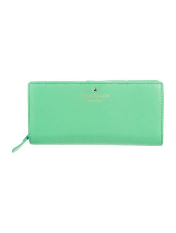 Kate Spade New York Leather Continental Wallet