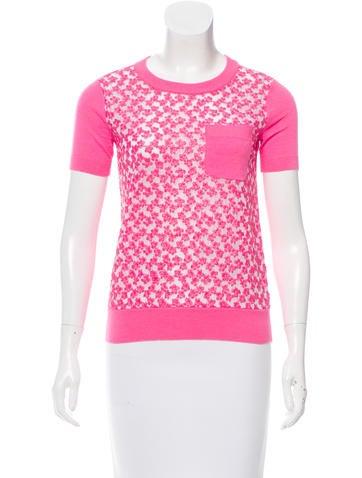 Kate Spade New York Silk & Cashmere-Blend Sweater None