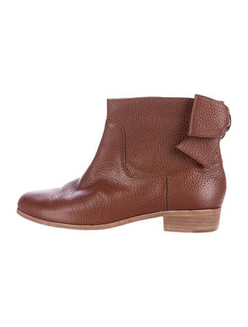 Kate Spade New York Leather Round-Toe Boots 2014 for sale buy online authentic discount new styles sale outlet locations wide range of online XK4ya