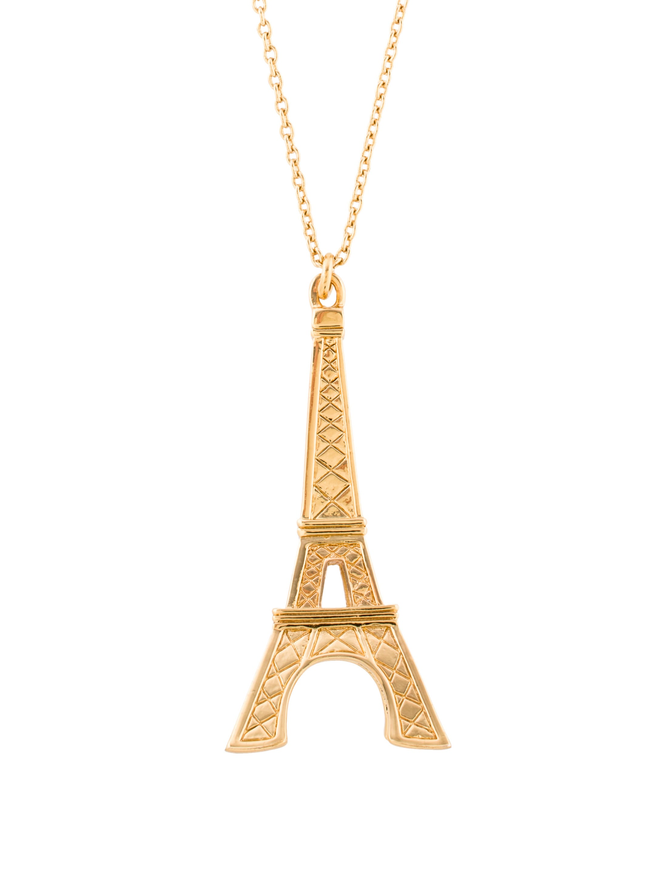 Kate spade new york parisian lights eiffel tower pendant necklace parisian lights eiffel tower pendant necklace aloadofball Image collections