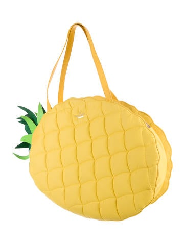 Wing It Pineapple Tote