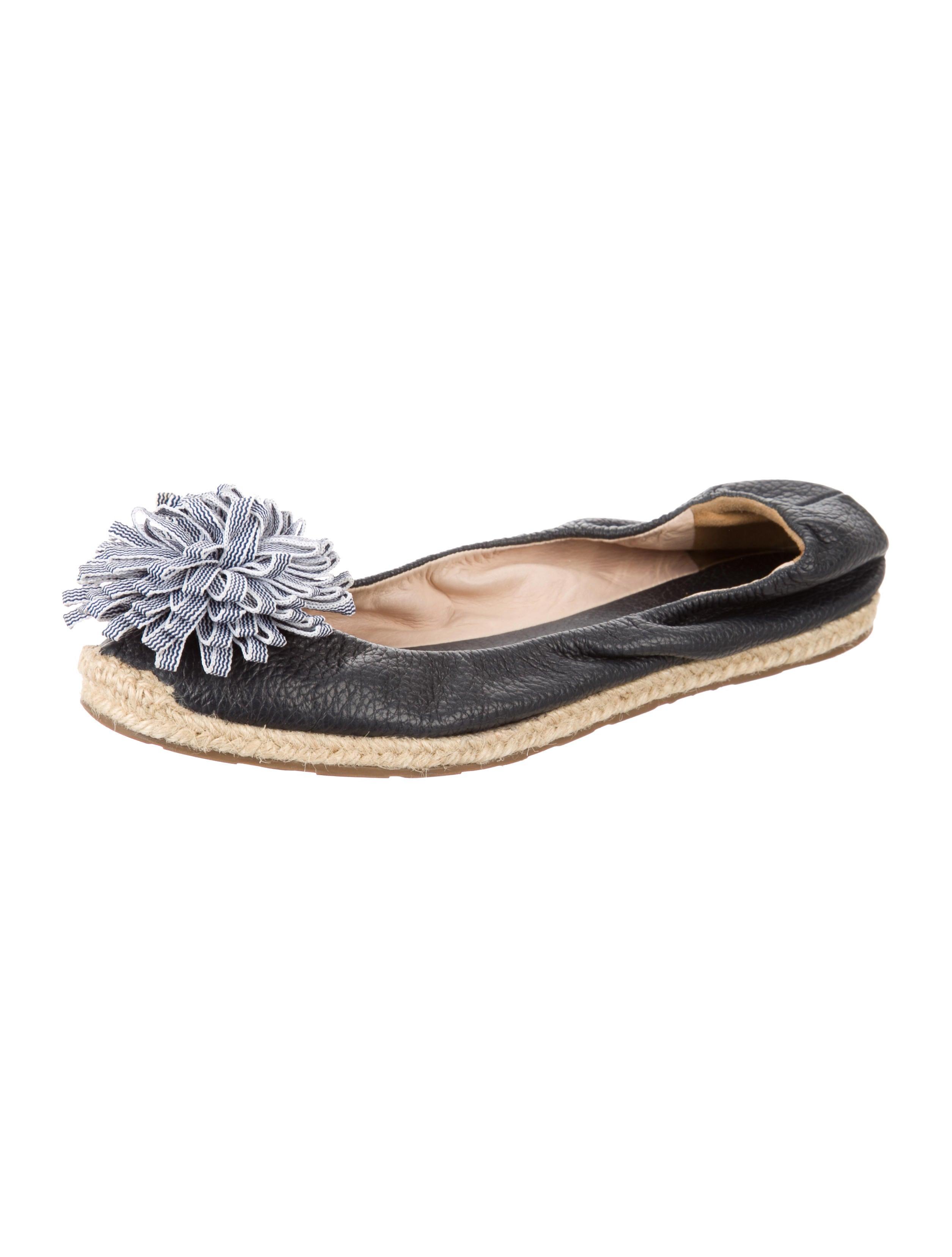 Kate spade new york pom pom espadrille flats shoes for Kate spade new york flats