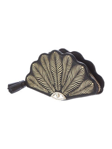 Leather Fan Coin Purse w/ Tags