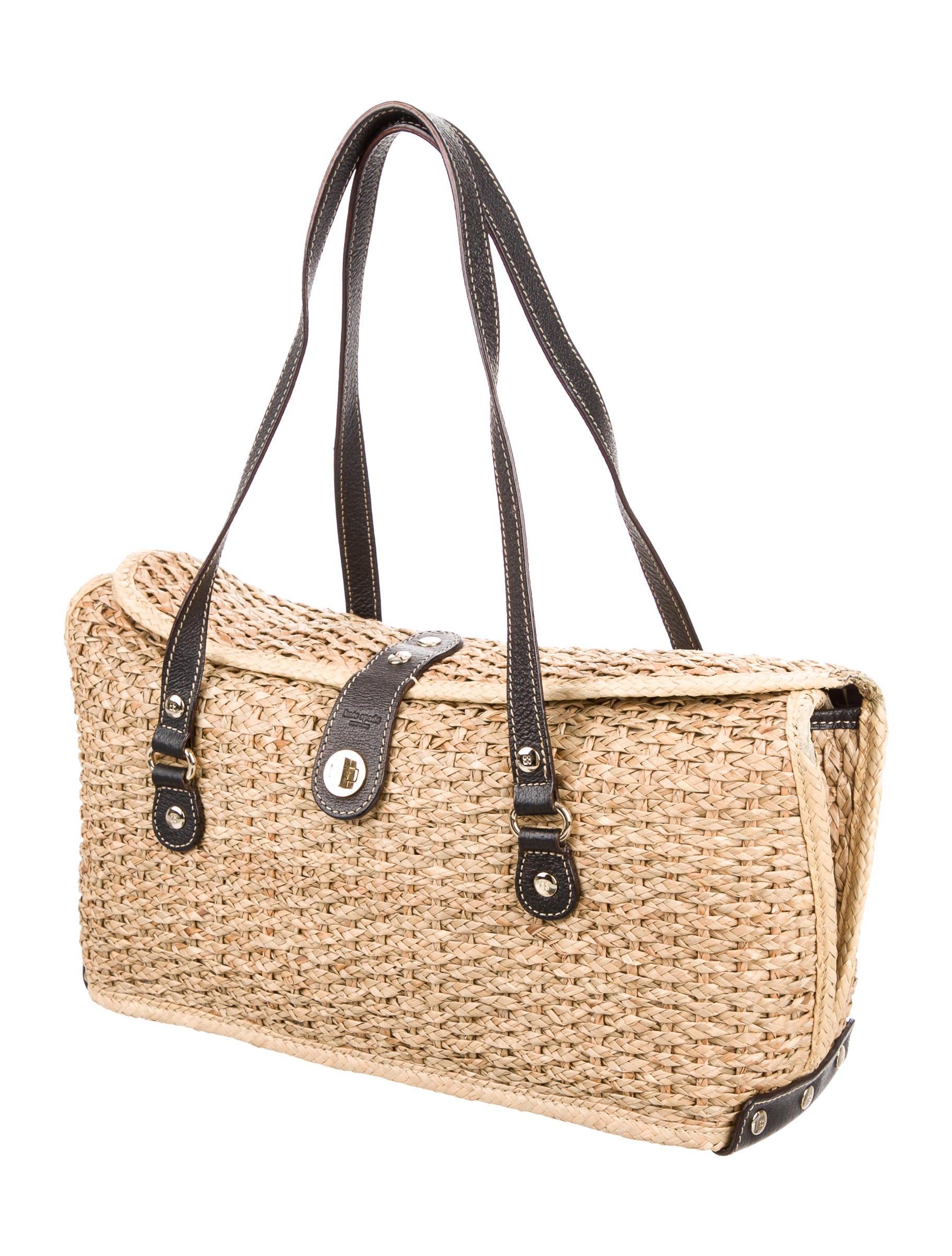 Kate Spade New York Riviera Straw E W Satchel Handbags