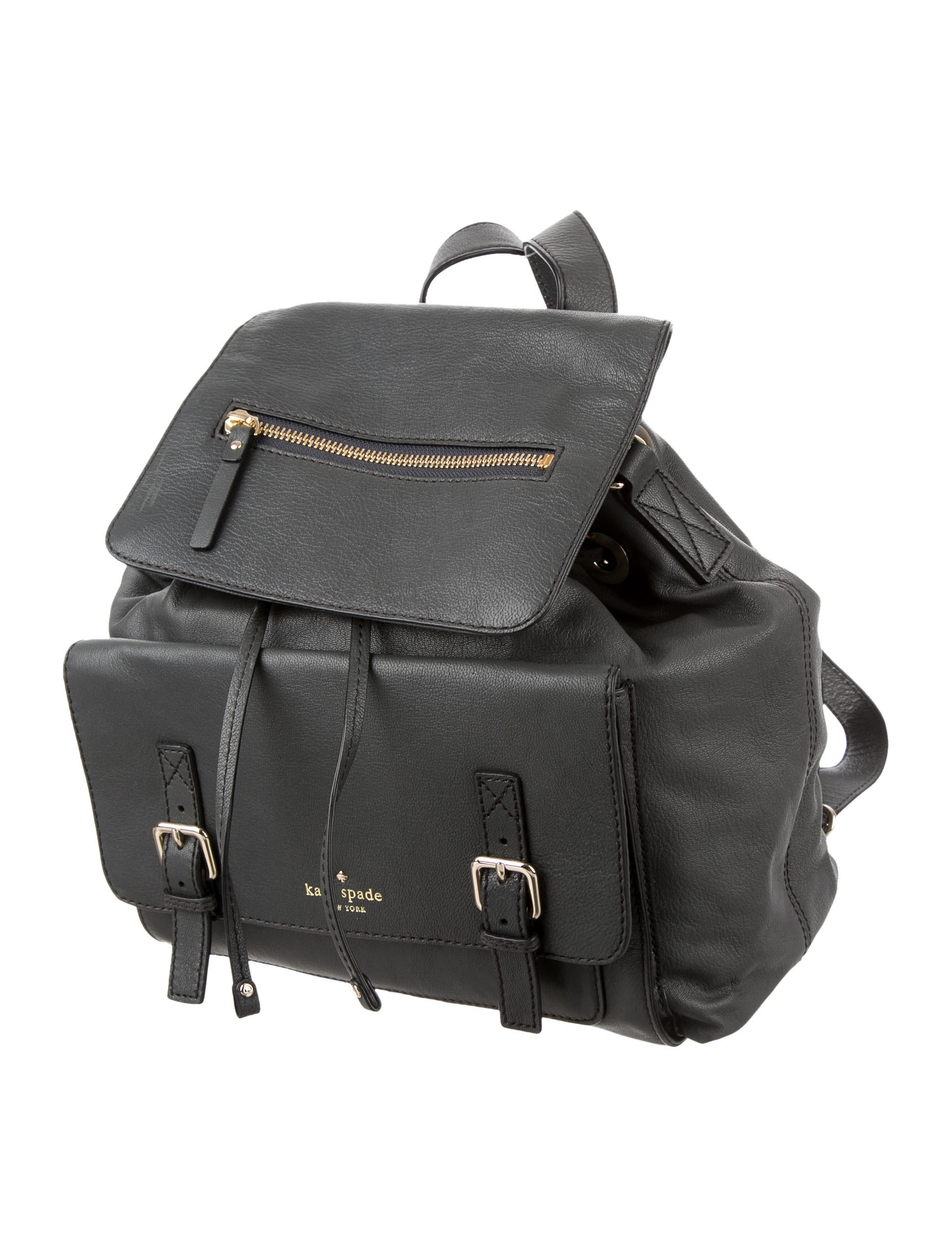 Kate Spade New York Leather Backpack - Handbags - WKA53767 ...